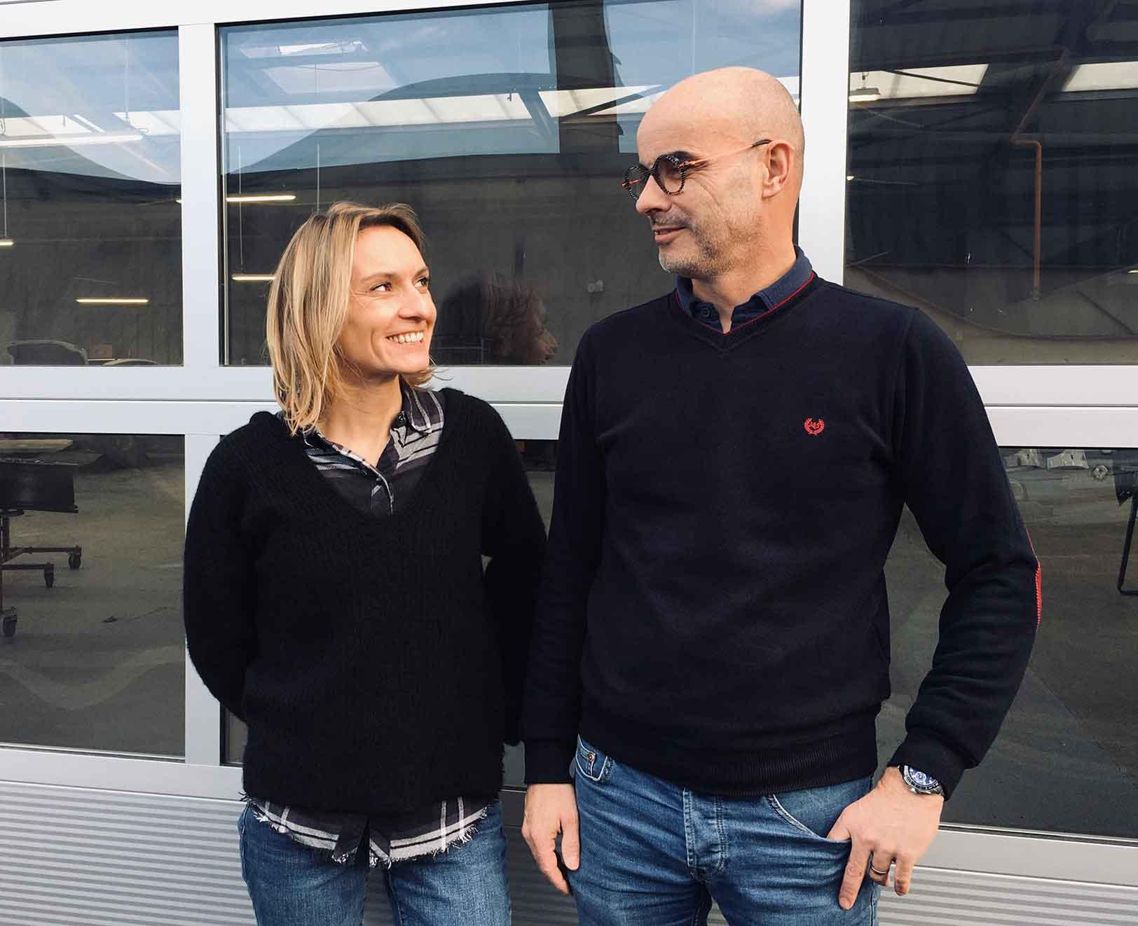 Aurélie et Boris de Obbo Carrosiers